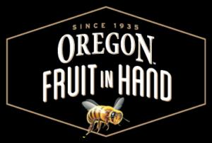 Fruit in hand logo