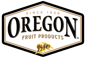 Oregon Fruit Products White Logo