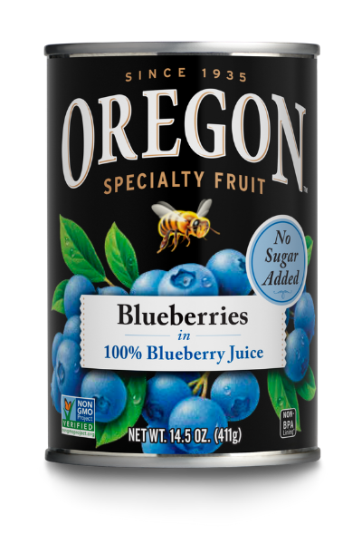 Blueberries in 100% Blueberry Juice