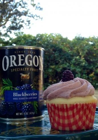 Blackberry Buttercream Frosting