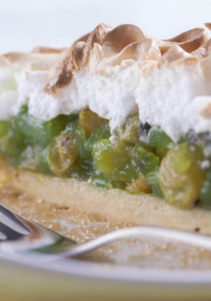 No-Bake Gooseberry Pie