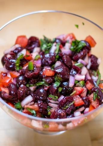 Dark Sweet Cherry Salsa