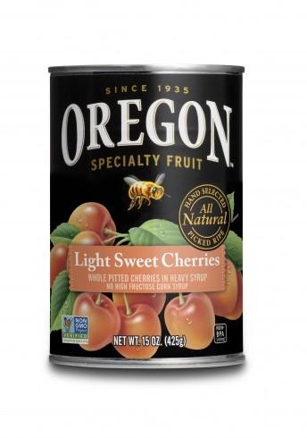 Quick  Light Sweet Cherries Pie