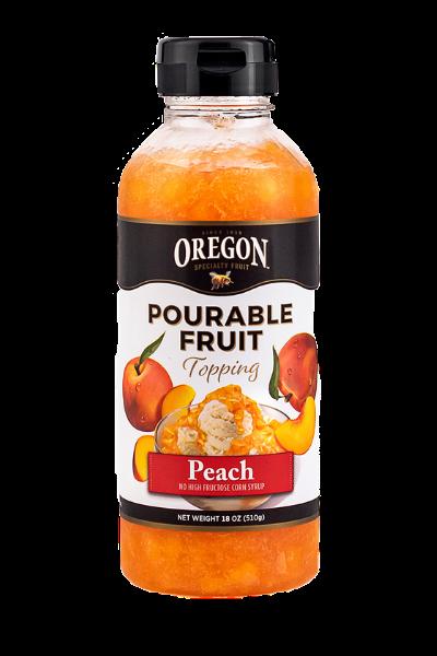 Peach Pourable Fruit