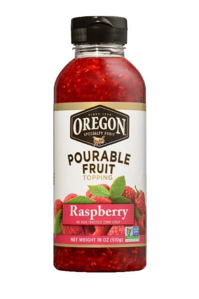 Raspberry Pourable Fruit