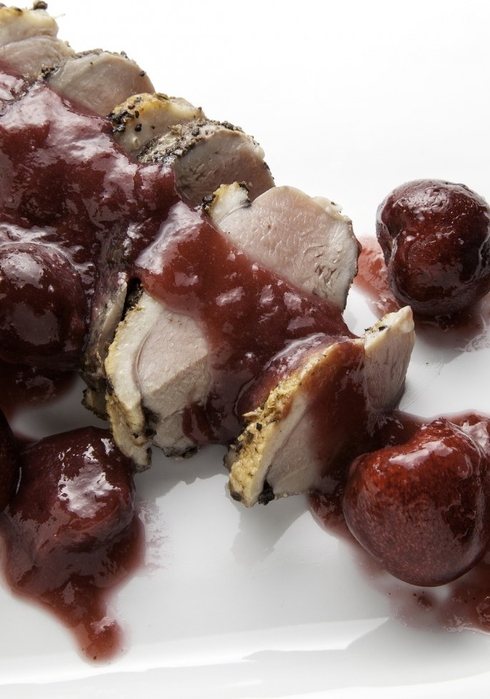 Duck Breast With Cherry Pepper Sauce