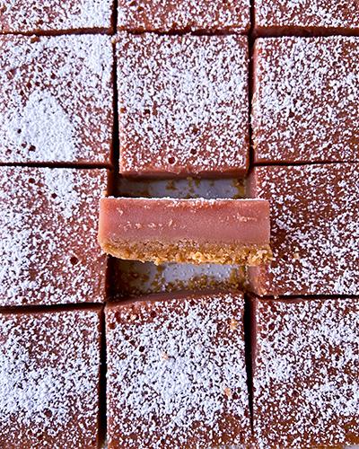 Golden Tart Cherry Bars