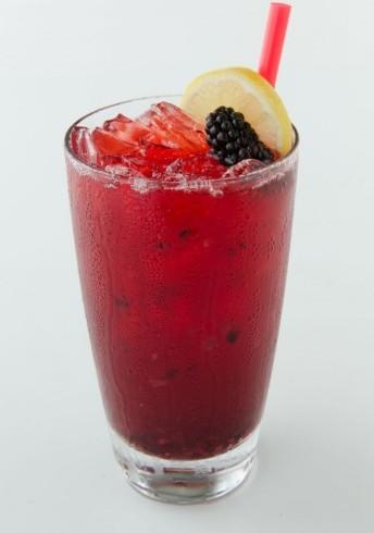 Blueberry Cream Lemonade