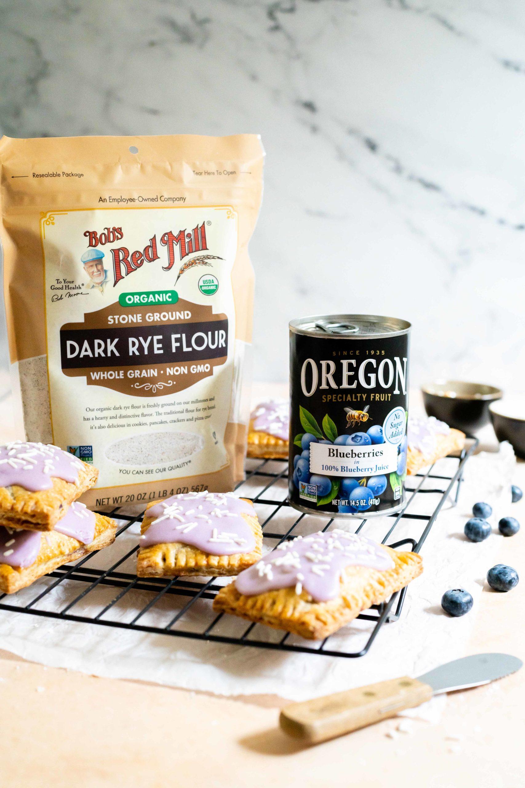 Blueberry Rye Hand Pies