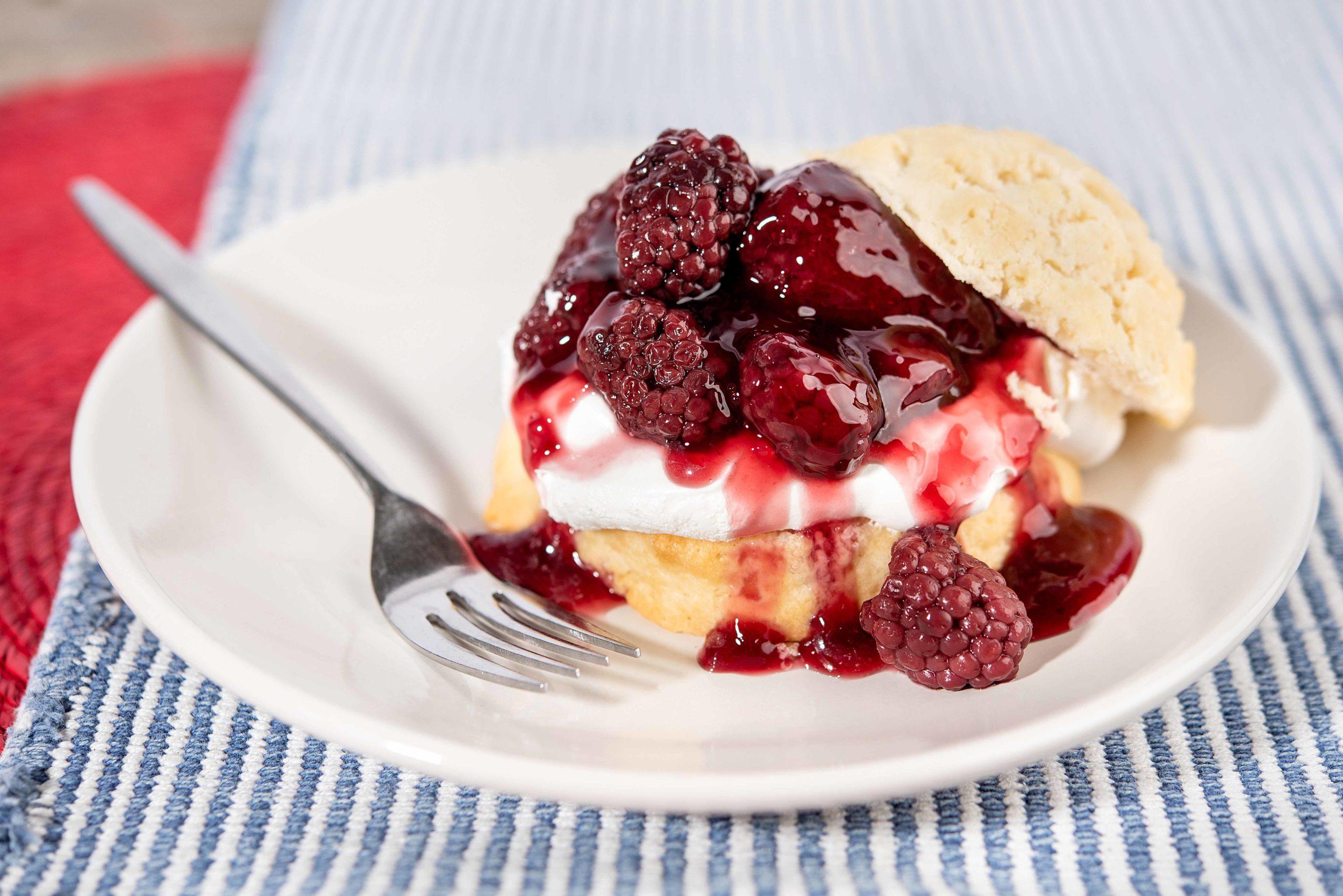 Mixed Berry Shorcake