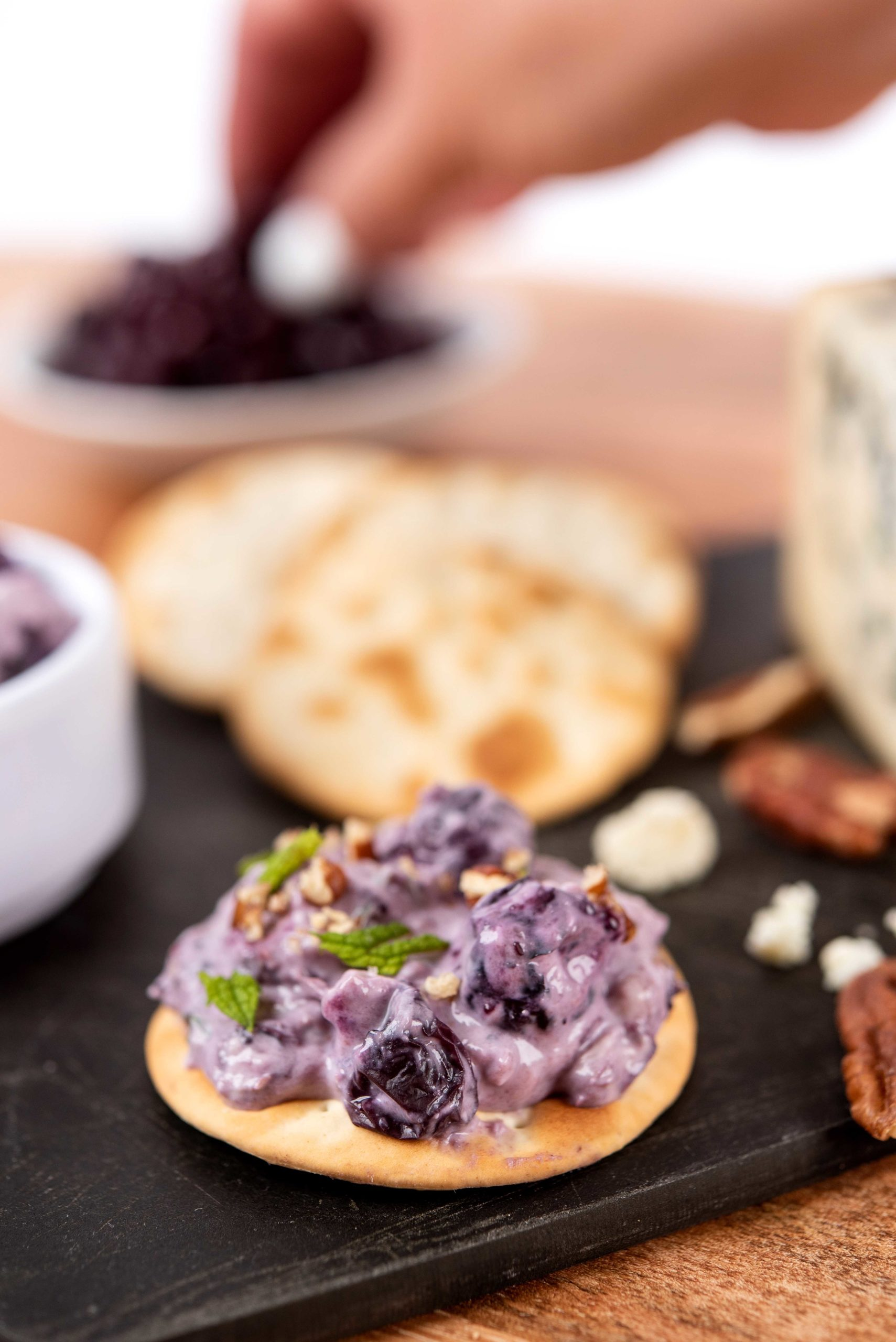 Blueberry Blue Cheese Spread